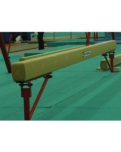 "Competition training ladies balance beam - 770mm (2'6"") high"
