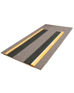 Vault run up carpet and stabilising frame