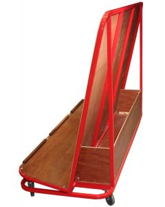 Mat trolley - inclined