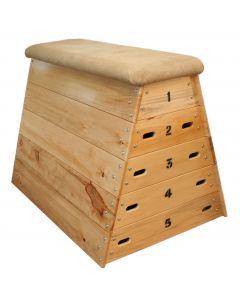 Timber vaulting box