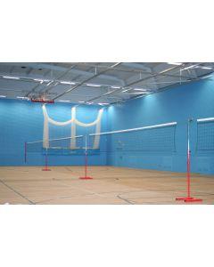 Multi-height practice net