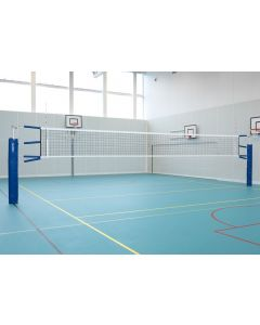SRX socketed volleyball posts (Telescopic posts)