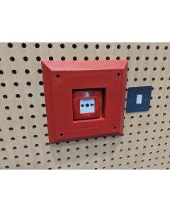Fire alarm call point padding