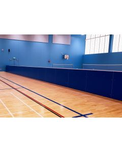 Freestanding mobile sports hall rebound boards