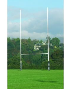 Steel rugby posts