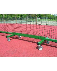 Freestanding tennis post trolley