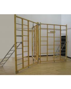 "Timber 3-gate ""Foldaway"" climbing frame"
