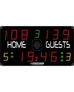 Multisports electronic scoreboard - ECO 3000C