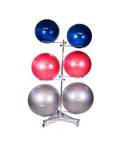Mobile Gym Ball Rack
