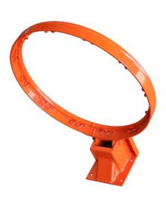 Basketball ring and net - pressure release