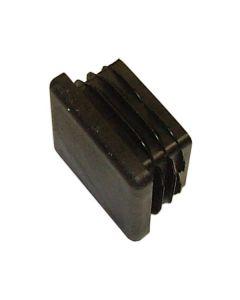 """Black plastic insert 2"""" square"""