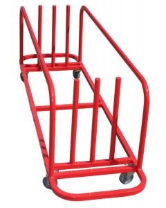 Bridging equipment storage trolley