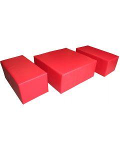 Sprung vault trainer foam block set