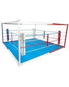 Floor boxing ring - freestanding