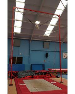 Floor mounted spotting rig