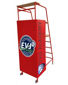 Padding for freestanding volleyball umpires platform - fully digitally printed