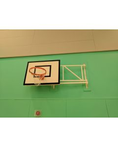 Basketball goals - Practice - Wall fixed sideways hinged