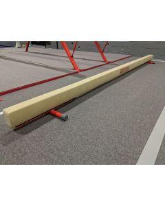 Competition training ladies balance beam - floor model
