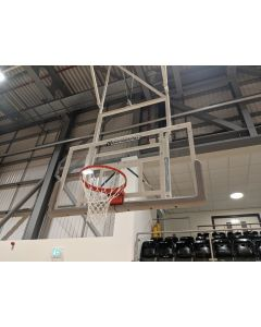Basketball goals - Matchplay - Roof retractable type - Folding - Dual boom