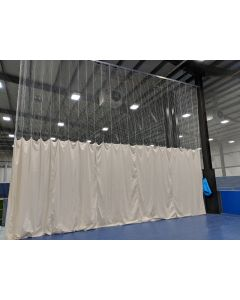 Bowlers end backstop cricket nets