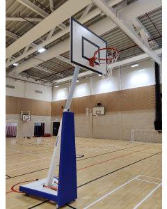 SAM School portable basketball goal