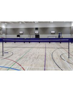 BWF approved socketed badminton posts