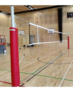 SRX socketed volleyball posts (Fixed height posts)