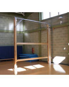 Single double cantilever beam unit