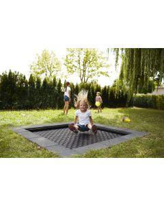"""Outdoor sunken trampoline - Kids Tramp """"Playground"""""""
