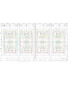 Line marking drawings