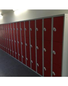 Mild steel lockers