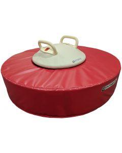 Pommel trainer with mushroom mat