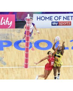 Competition netball post padding