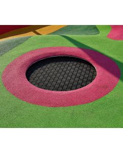 """Outdoor sunken trampoline - Kids Tramp """"Playground Loop"""""""