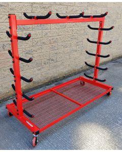 Gamespost pole storage trolley