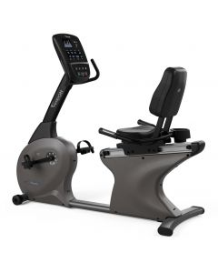 Vision Fitness Recumbent Exercise Bike with Standard LED console