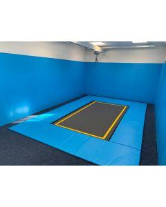 Rebound therapy trampoline
