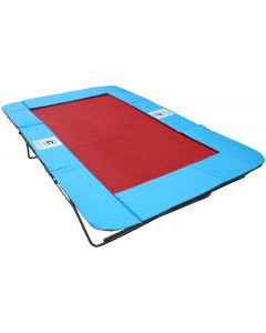 Rebound therapy trampoline with UltraMesh bed