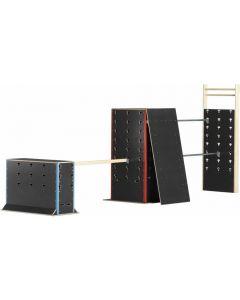 Cube set - School set 1