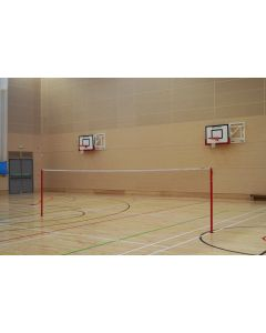 Badminton posts. Competition. Socketed