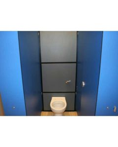 Solid grade laminate cistern panelling