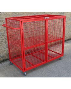 Equipment storage cage