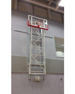 Basketball goals - Matchplay - wall fixed, upward folding
