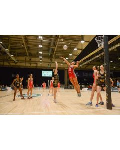 Netball posts - competition - socketed