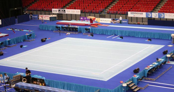 Artistic Gymnastics Sprung Floor Fig Approved