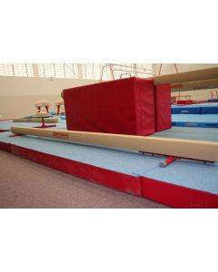 Competition training ladies balance beam - floor model