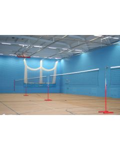 Multi-height practice net