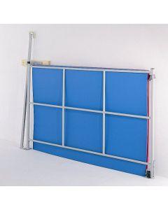 Mat gate climbing frame