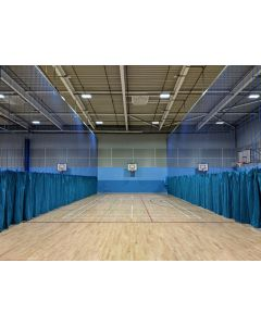 Sports hall division nets / curtains