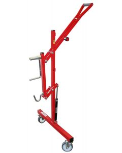 """SafeLift"" hydraulically assisted roller stands"